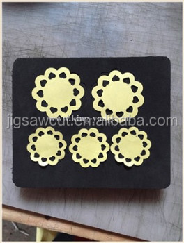 Flower Wooden die for scrapbooking 15.8mm thick fit sizzix big shot