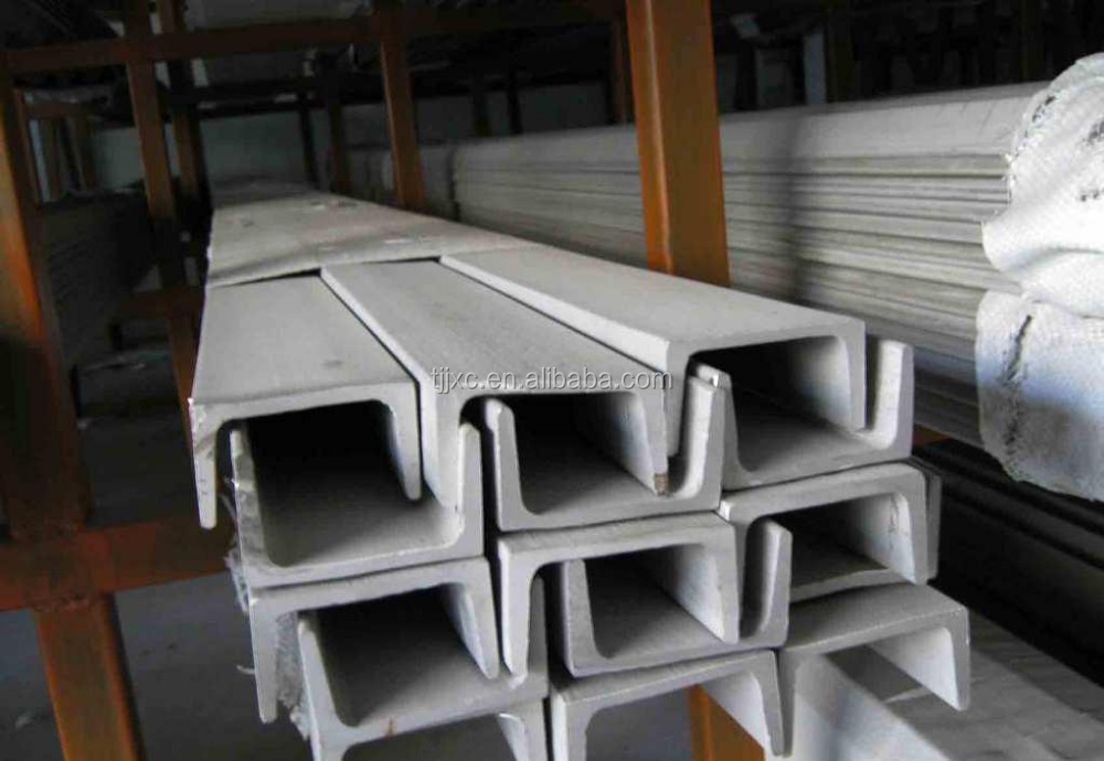 AISI 304 Stainless Steel C Channel Sizes With High Quality