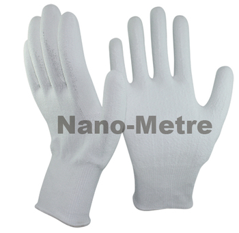 NMSAFETY white cut resistant PU coated glove