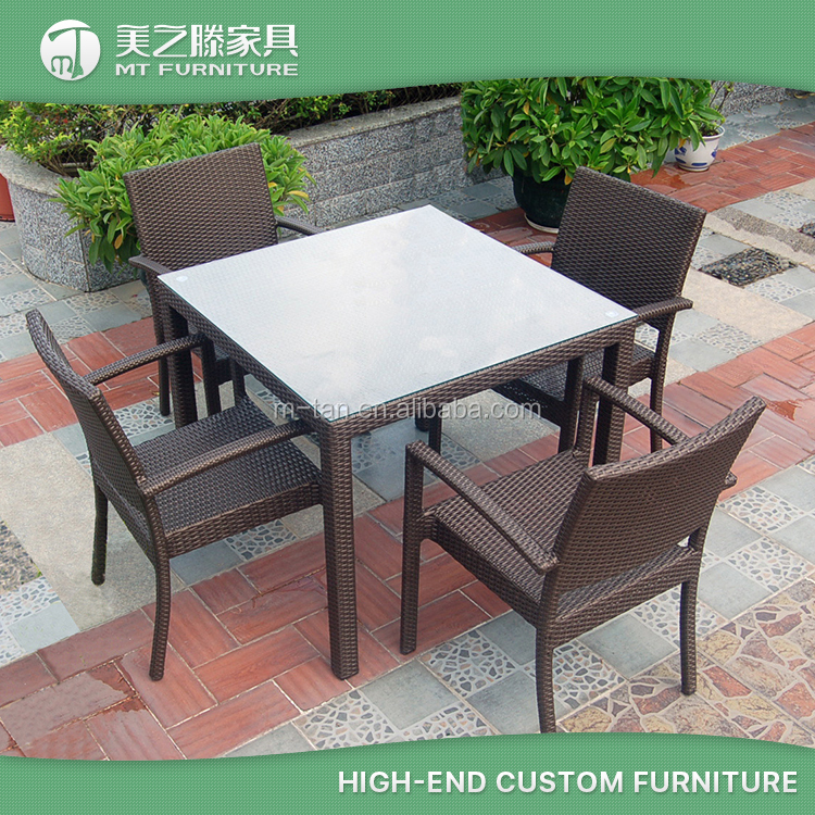 China wholesale seaters rattan wicker used restaurant