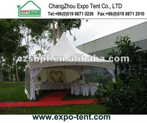 5x5 Pagoda Tent with transparent sidewalls