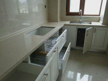 Water resistant kitchen cabinet