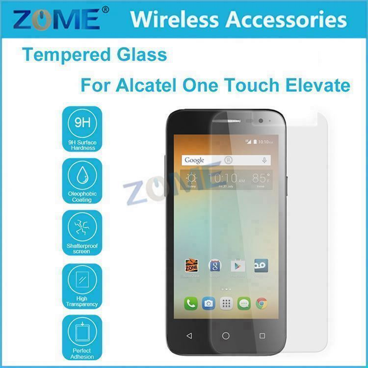 Wholesale 2015 Tempered Glass 0.33Mm 9H Hardness Scratchproof For Alcatel One Touch Elevate Screen Protector