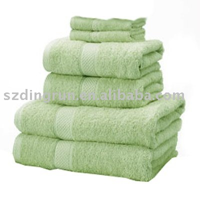 5 star hotel 100% cotton bath towel solid color