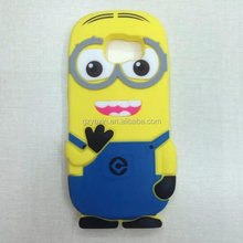 soft case for samsung galaxy s6,Cute Cartoon Minion Silicone Soft Case Cover For Samsung Galaxy S6 Edge