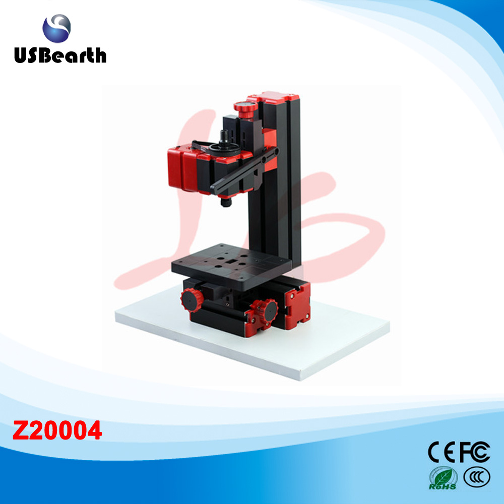 Mini Drilling Machine Z20004 Mini Lathe Machine Woodworking tool,Easy operation, it can be used to drill and grind by hand