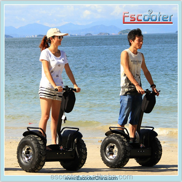 72V 2000 Watts Max Load 130kg Electric Motor Scooter With Fat Tire