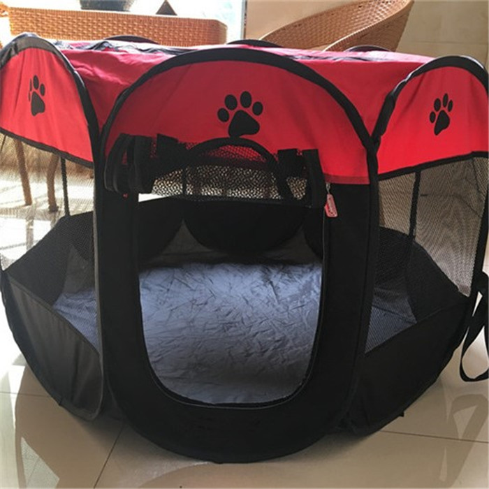 2017 new pet tents pop up pet tent dog show with steel wire frame china making wholesale suppiles