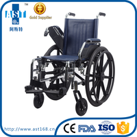 Baby steel manual Wheelchair for kids use and pediatric wheelchair