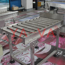 Boxes Transportation Gravity Roller Conveyor Manual Push Roller Conveyor System