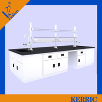 Stainless steel laboratory test bench for Chemical Engineering & Technology Lab