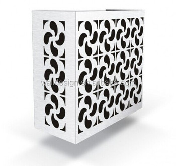 Decorative Aluminum Air Conditioner Cover For Outdoor