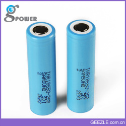 Newest Fast Shipping Geezle 18650 li ion battery 18500 battery
