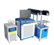 Nonmetal 30w Co2 laser machine laser printing on glass