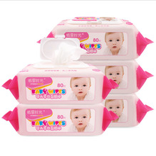 Natural Care Disposable Soft Hand Mouth Baby Cleaning Wet Wipes