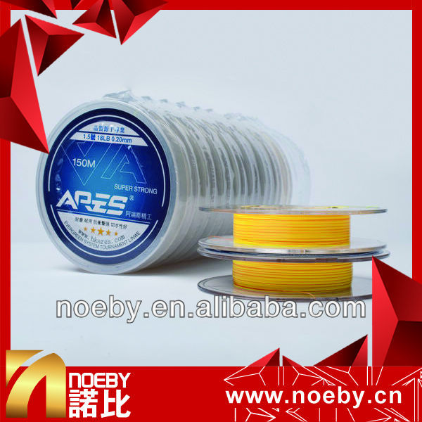 NOEBY150m manufactory carbon & nylon japanese fluorocarbon fishing line