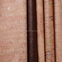 Upholstery Leather Cork Leather Fabric For