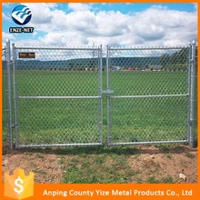 Alibaba china supplier anti-corrosive beautiful form Sports Ground & Playground Most Popular Security Fence chain link fence