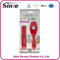 Professional Good Quality baby brush and comb sets