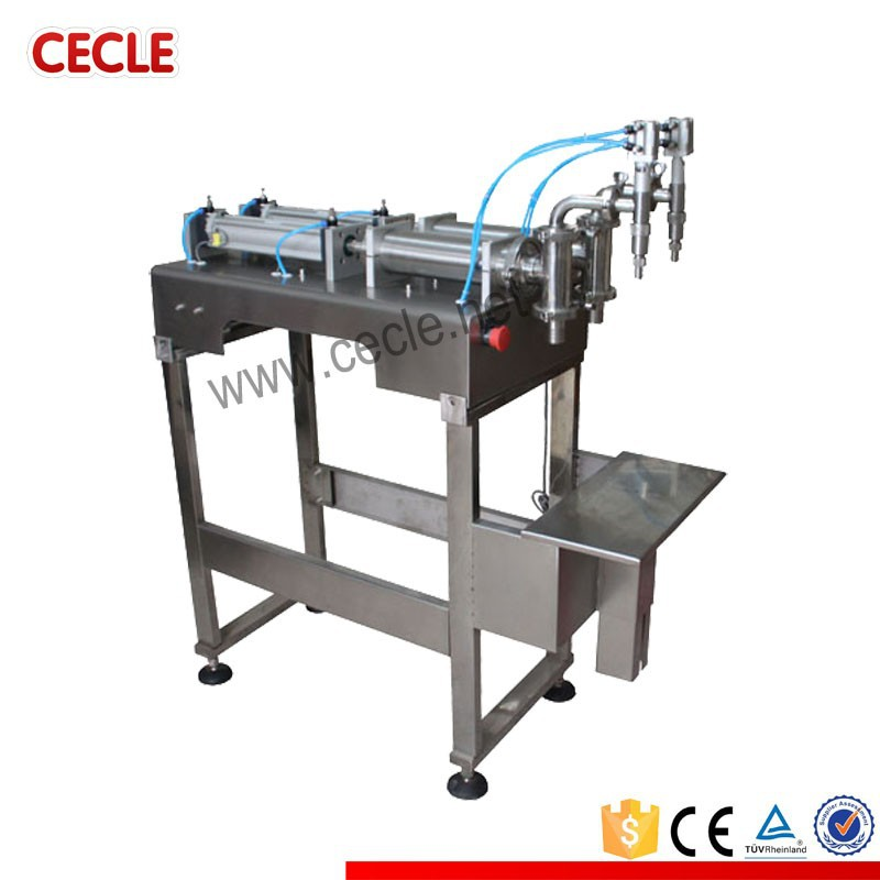 CE ISO liquid skim milk filling machine