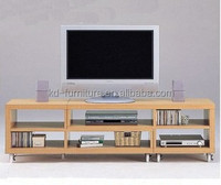 BGTS0912 Living room furniture protable and extendible modern wood TV bench with wheels, corner TV cabinet