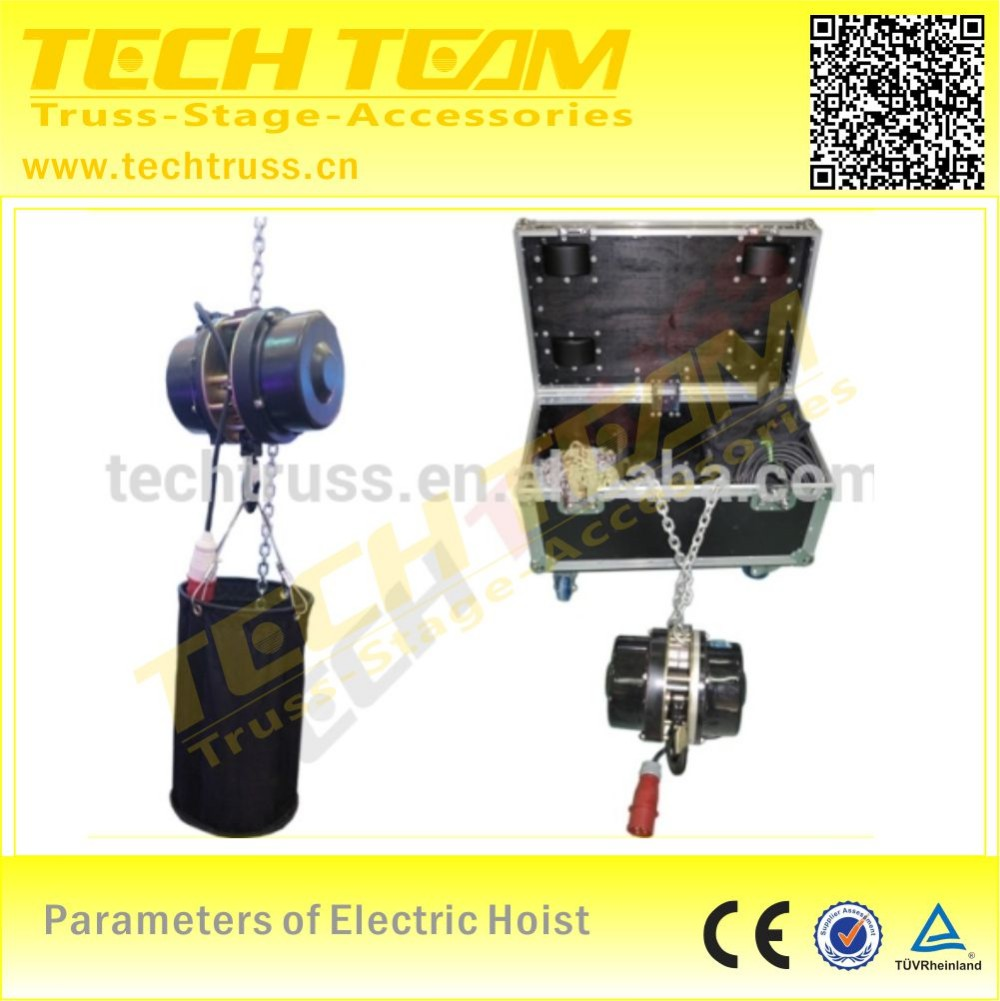 1 ton Electric hoist, loading 1000kg - easy to assemble!