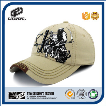 Curve brim fashion sports cap and hat