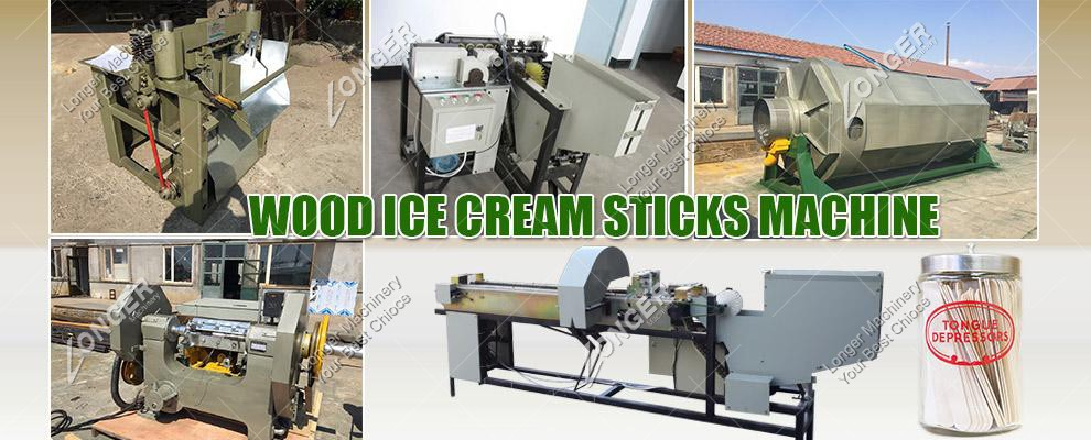 Wooden Ice Cream Stick Making Machine for Sale
