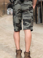 Miltary Printed Men's Shorts