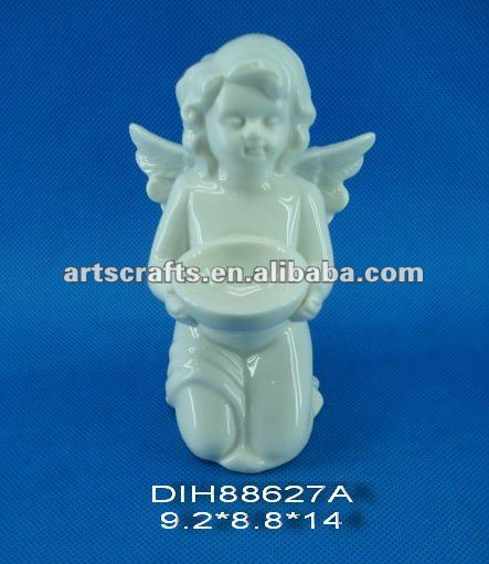 Angel with holder for Christmas decoration