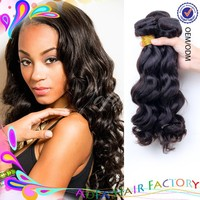 Aofa 100% unprocessed grade 7a virgin hair, trio brazilian body wave