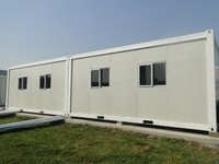 trade assurance china steel structure flat roof prefab villa house