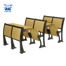 School furniture university classroom study desk and folding chair