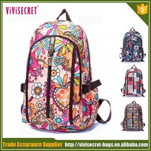 New fashionable waterproof folding cute travel backpack for girls