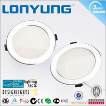 energy saving high luminous cob trimless led downlight warm white