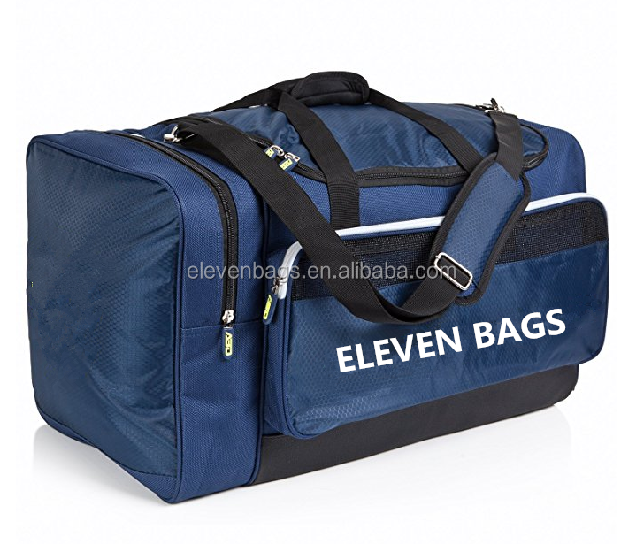 Team Sports Travel & Gym Insulated Cooler Compartment Custom Duffle Bag