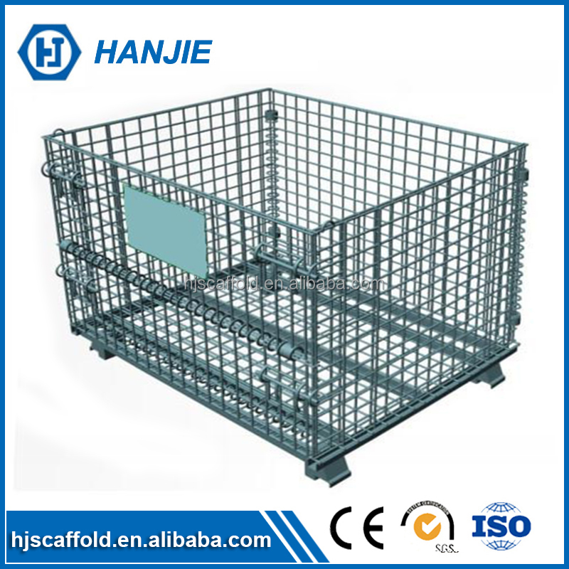 Factory supplier economic metal collapsible wire mesh cage