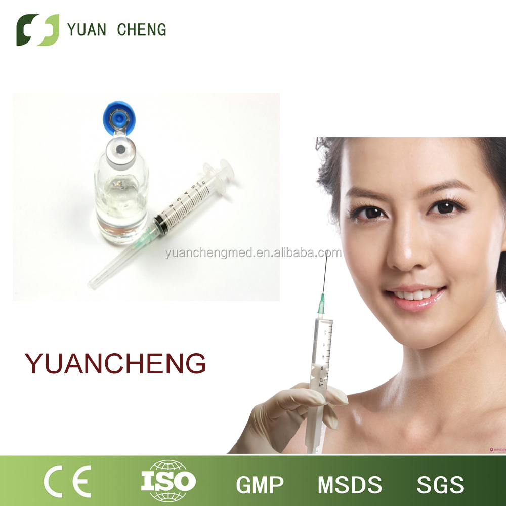 hyaluronic acid <strong>injectable</strong> ha dermal fillers for cosmetic surgery /soften facial creases /inejction grade/ derm 2ml