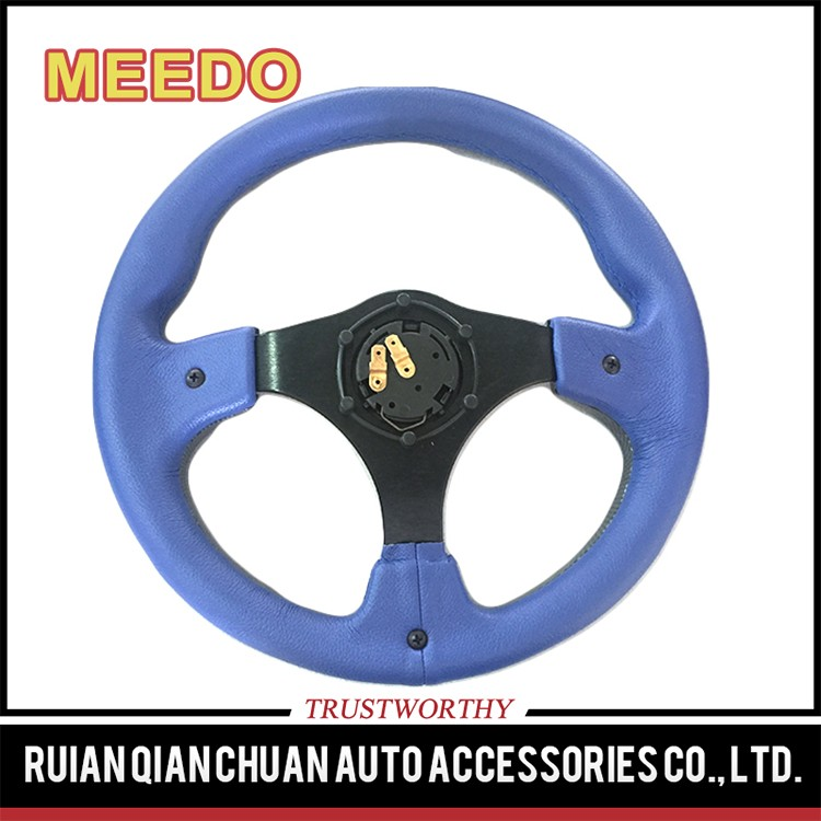 Top sale guaranteed quality three spokes steering wheel