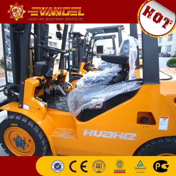China 4ton Huahe diesel forklift attachments / rotator