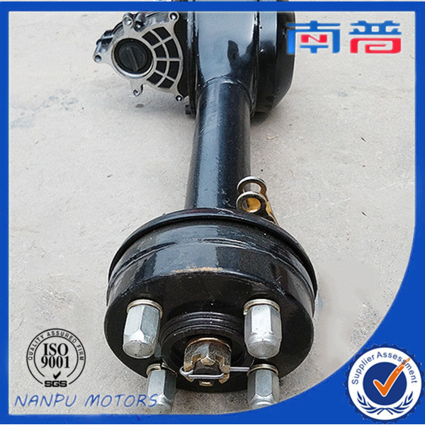 factory price Transaxle tricycle rear axle integrated for e-rickshaw