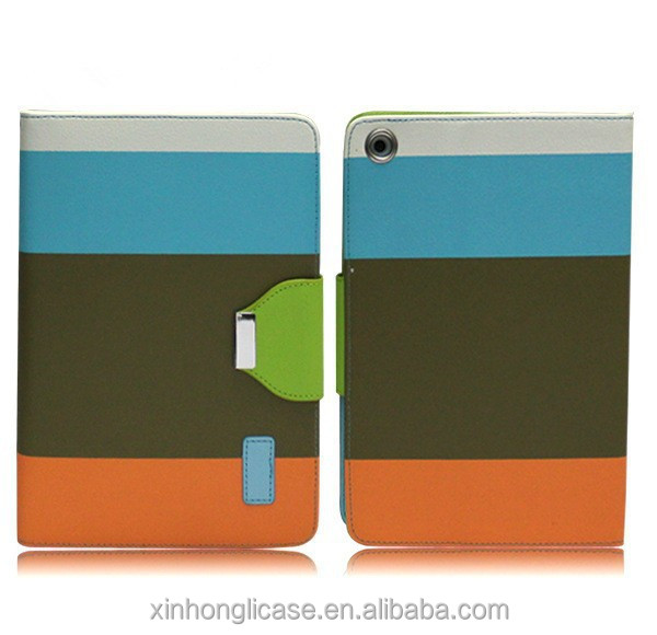 for IPAD mini Leather Pouch,for iPad mini Case with Credit Card Slot Function