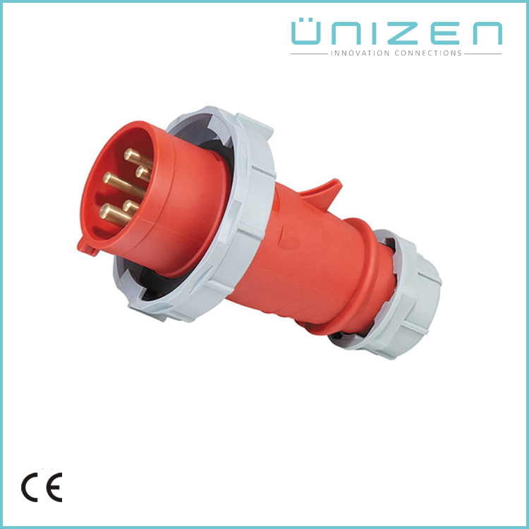 UNIZEN New Launched Products Industrial Outlet Plug Socket 5 Pin Connector