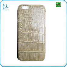 Fashion high quality genuine crocodile leather skin case for iphone6/7