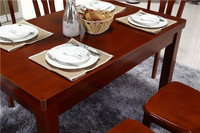 The customized Simple and generous wooden dining table