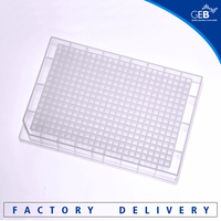 manufactory direct plastic deep square well-V bottom plate