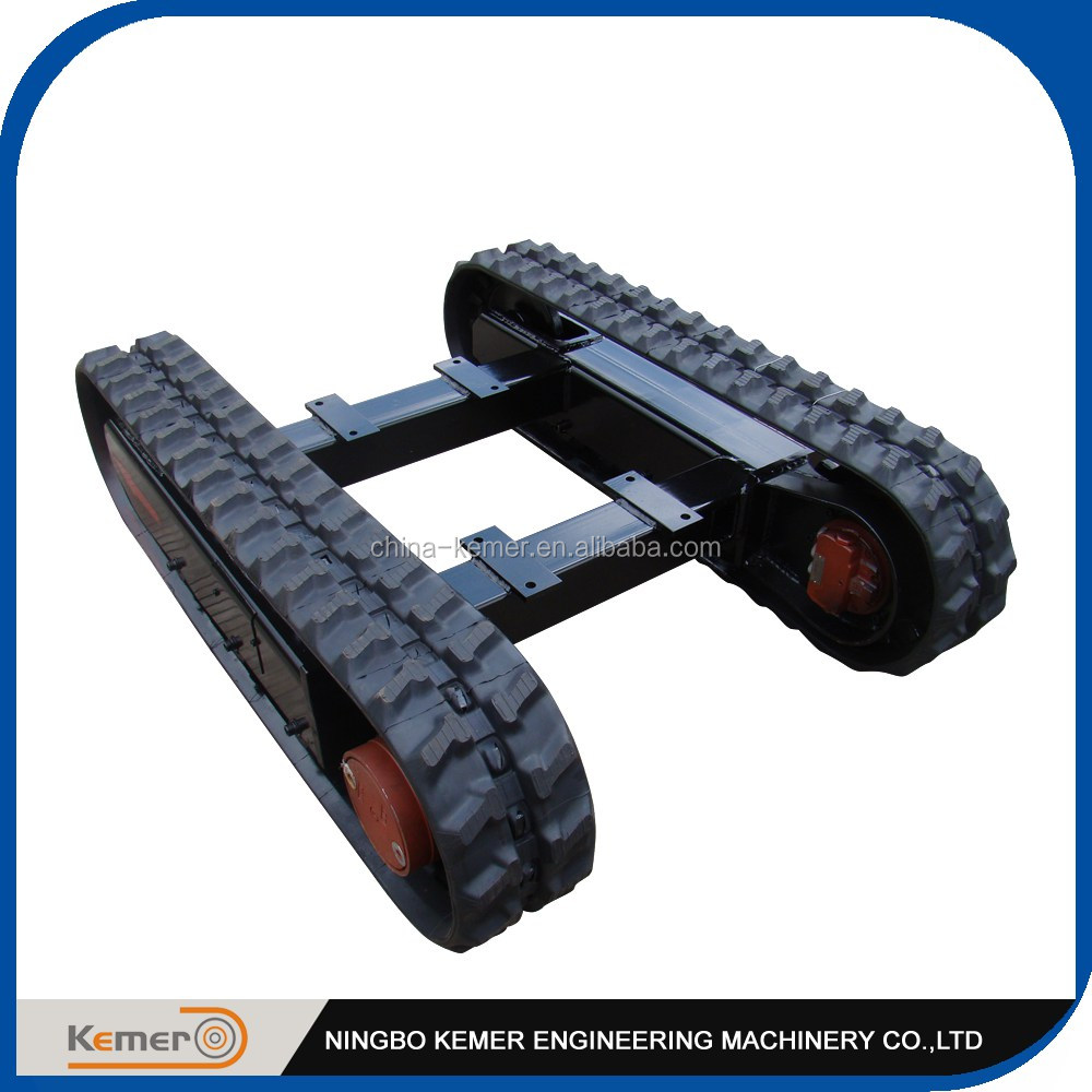 Mini Rubber Track Undercarriage for Excavator Driliing Rigs