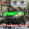 Good quality 4.5inch round LED headlight for kawasaki motorcycle japan