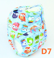 D7 YiWu ChangHe Manufacturer Stock All In One Diaper Reusable Washable Cloth Diaper Baby
