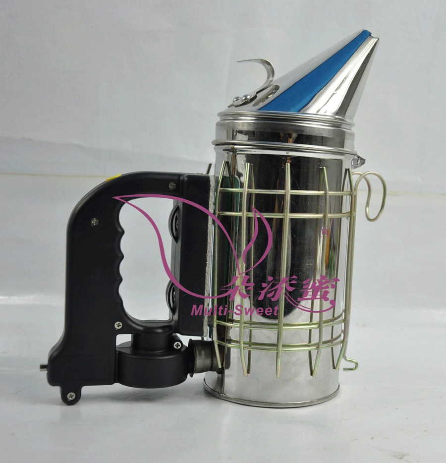 Hot sale stainless steel electric bee smoker for beekeeping